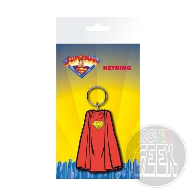 DC Comics Rubber Keychain Superman Cape