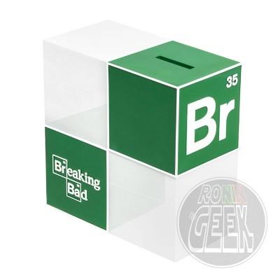 POPTOY Breaking Bad Money Bank / Bookend BrBa Logo
