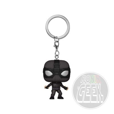 FUNKO POP! Keychain: Spider-Man: Far From Home - Spider-Man (Stealth Suit)