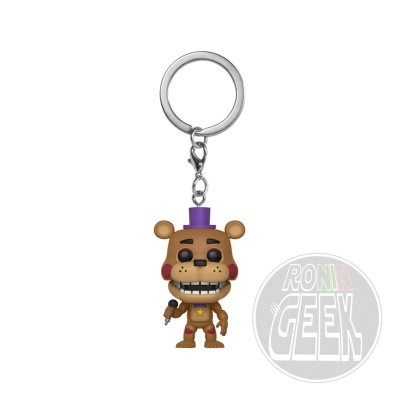 FUNKO POP! Keychain: Five Nights at Freddy's Pizzeria Simulator - Rockstar Freddy