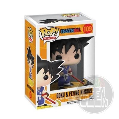 FUNKO POP! Animation: Dragonball - Goku and Flying Nimbus