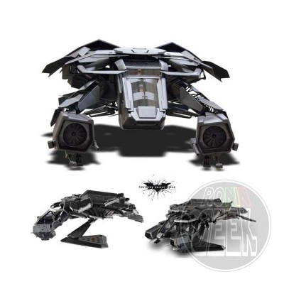 HotWheels Elite One: Batman The Dark Knight Rises Diecast Model 1/50 The Bat Plane