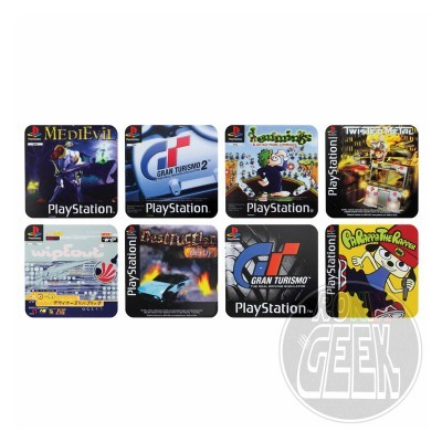 PlayStation Coaster 4-Pack Game Cover