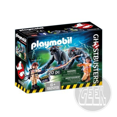 Playmobil 9223 - Ghostbusters: Venkman and Terror Dogs