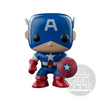 FUNKO POP! Marvel Captain America Photon Shield 75th Anniversary Limited