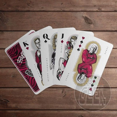 Back to the Future II Playing Cards Biff Tanner's Pleasure Paradise