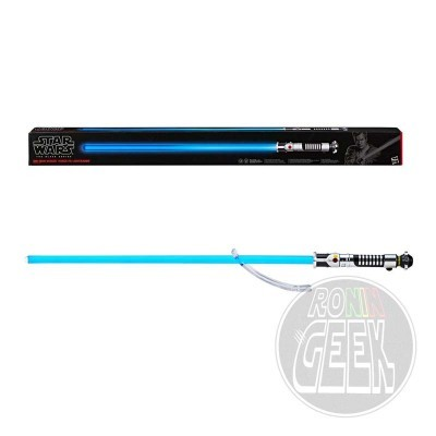 HASBRO Black Series Star Wars Episode I Replica 1/1 Force FX Lightsaber Obi-Wan Kenobi