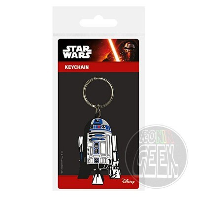 Star Wars Rubber Keychain R2-D2