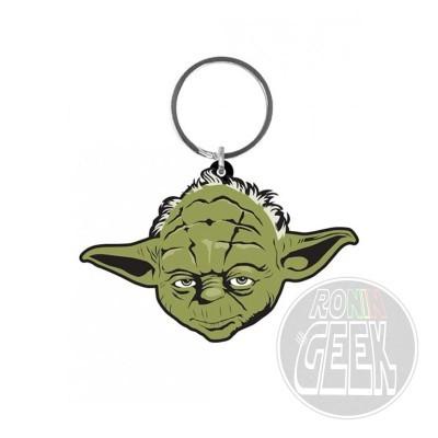 Star Wars Rubber Keychain Yoda