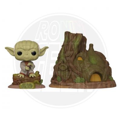 PRÉ-VENDA FUNKO POP! Town: Star Wars - Yoda's Hut (Empire Strikes Back 40th Anniversary)