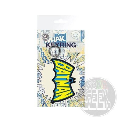 DC Comics Batman Wings Logo rubber keychain
