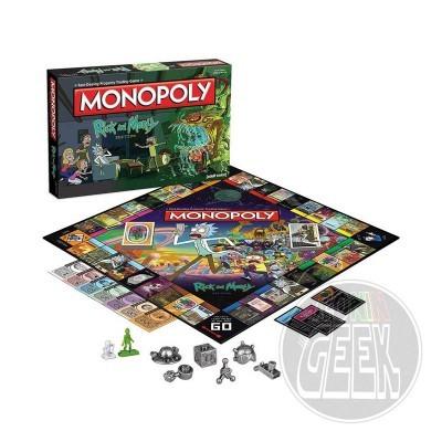 HASBRO Monopoly: Rick and Morty Edition