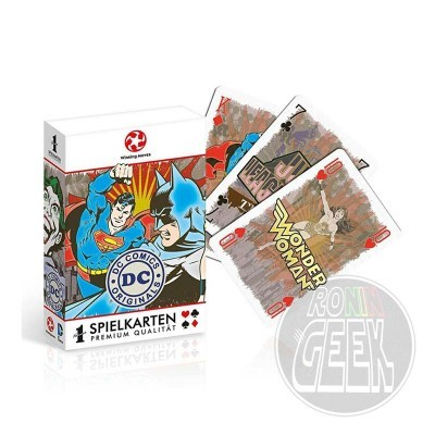 DC Originals Number 1 Playing Cards