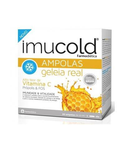 Imucold | Geleia Real 20 Ampolas