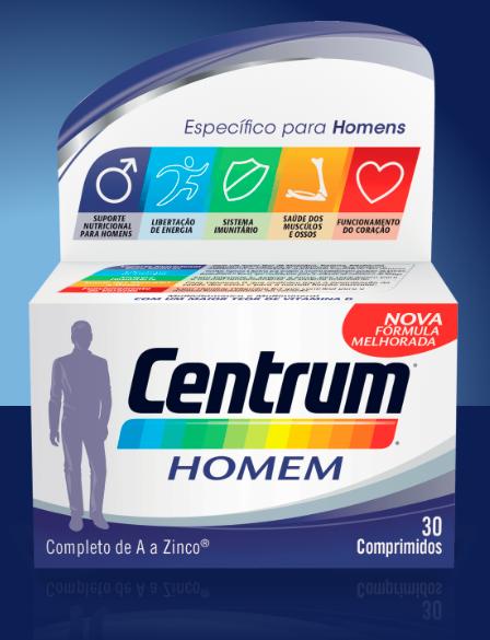 Centrum | Homem 30 Comprimidos