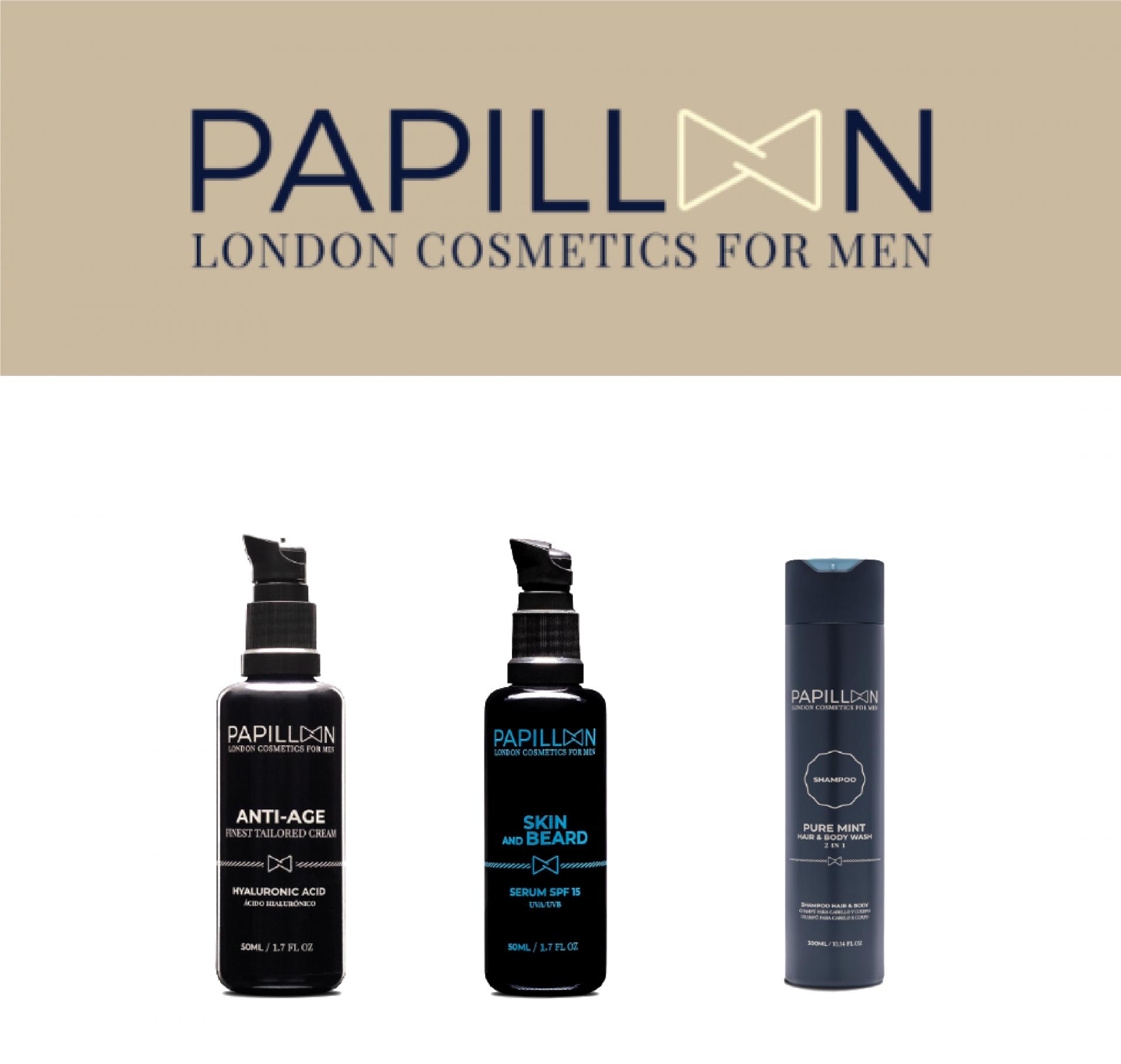 Papillon | Skin and Beard + Anti Age Tailored Cream + Pure Mint
