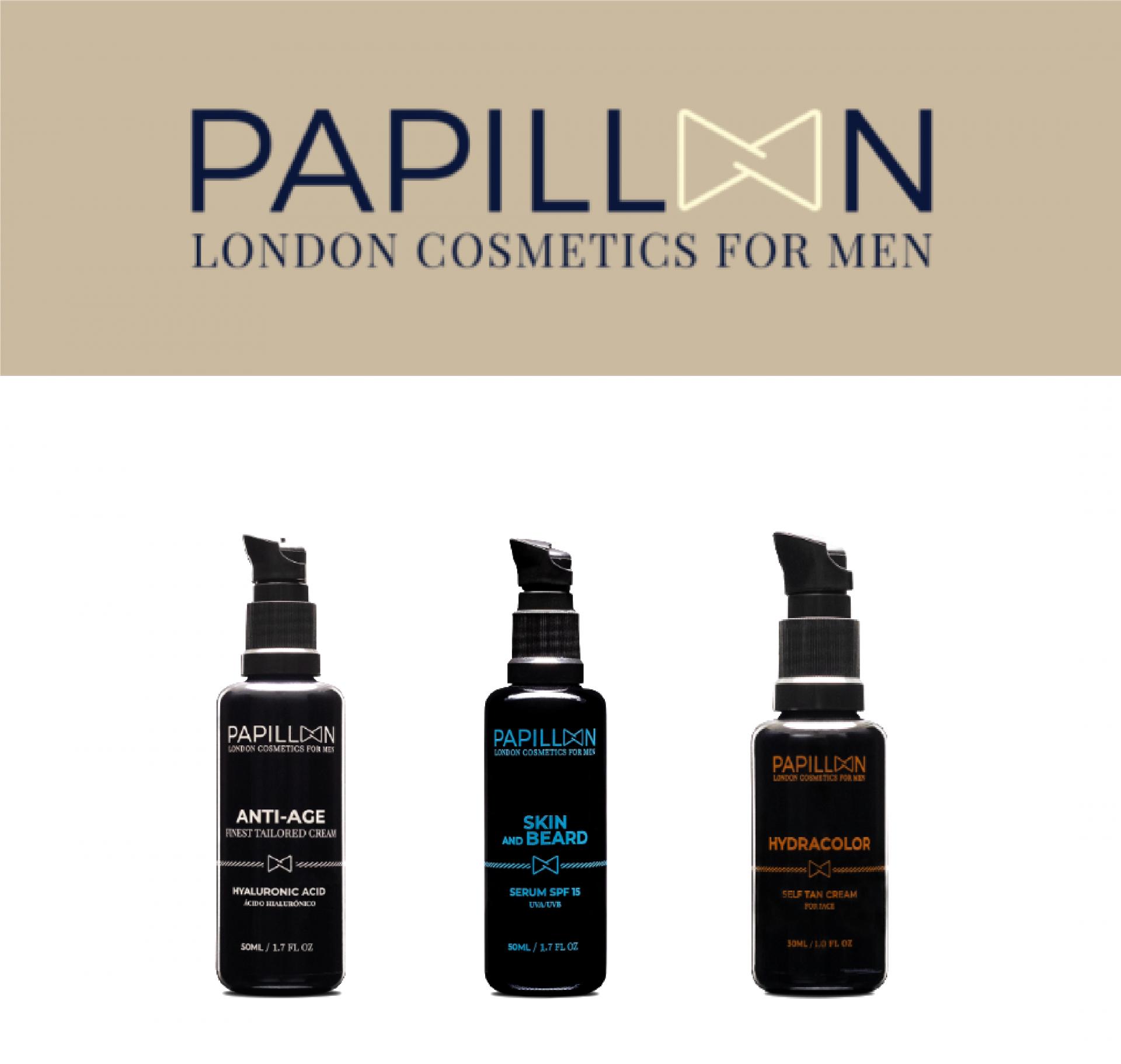 Papillon | Anti Age Tailored Cream + Skin and Beard + Hydracolor