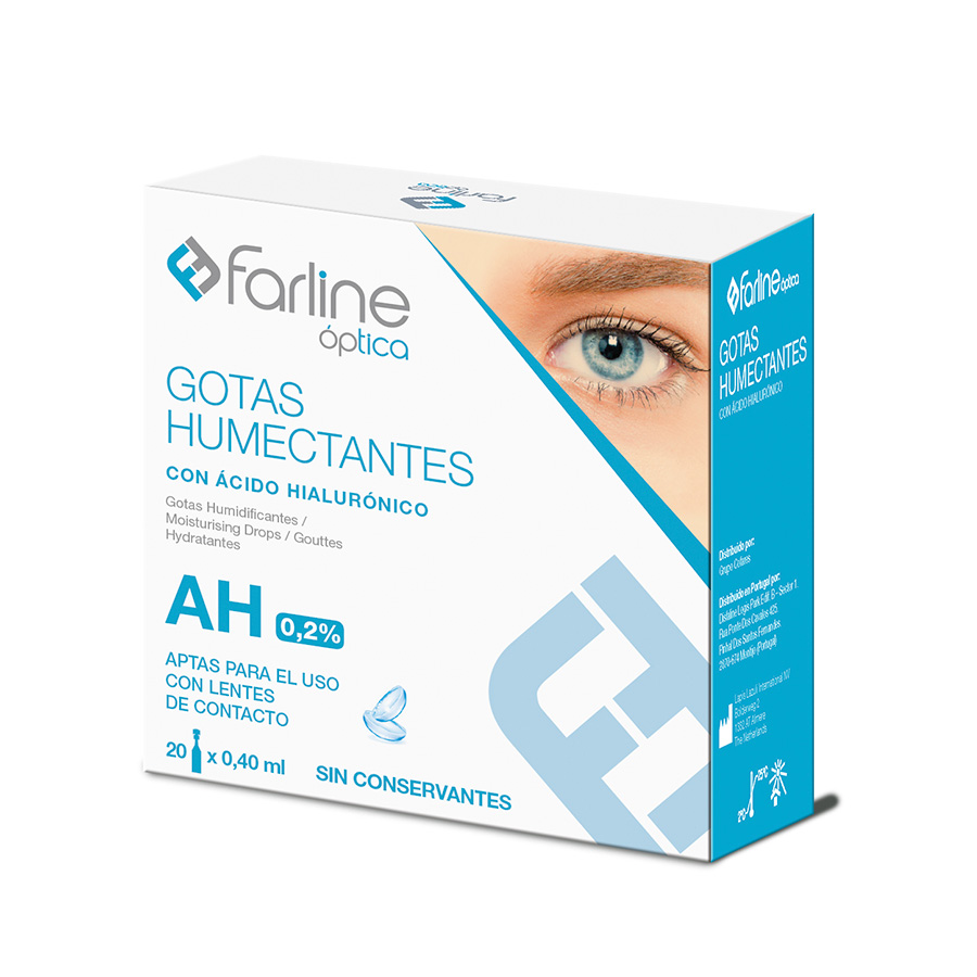 Farline | Gotas Humectantes AH 0.2% (20 x 0.40ml)
