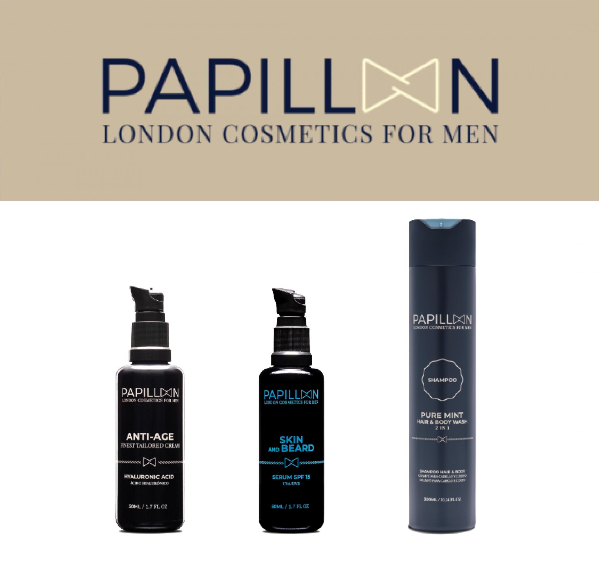 Papillon | Anti Age Tailored Cream + Skin and Beard + Pure Mint