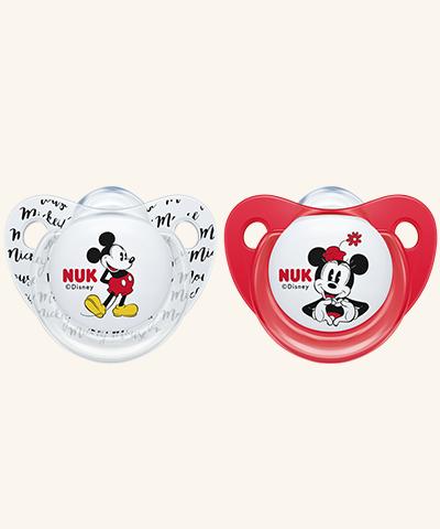 NUK | Chupeta Minnie Mouse (Silicone, 0-6m) x 2