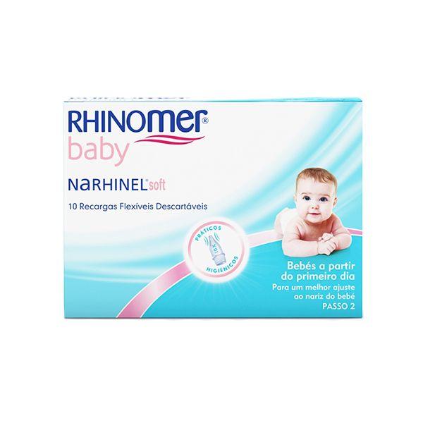 Rhinomer Baby | Narhinel Soft Recargas Flexíveis x 10