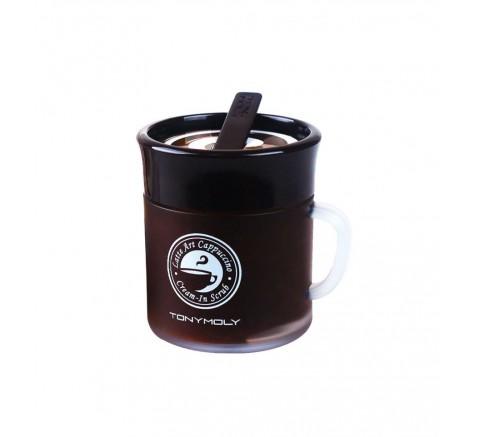 Tonymoly   Latte Art Capuccino Cream In Scrub