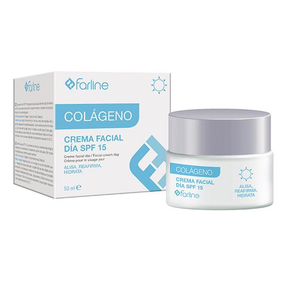 Farline   Colágeno Creme Facial Dia