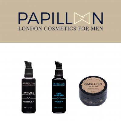 Papillon | Anti Age Tailored Cream + Skin and Beard + Styling Wax