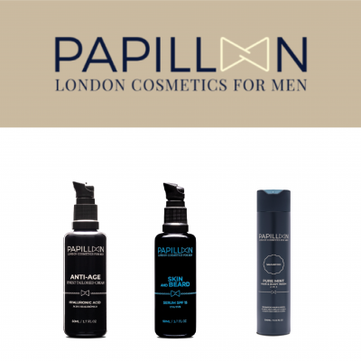 Papillon | Skin and Beard + Anti Age Tailored Cream + Pure Mint