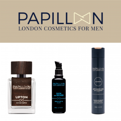Papillon | Upton Eau de Parfum + Skin and Beard + Anti Hair Loss and Anti Dandruff