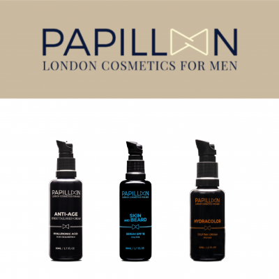 Papillon | Anti Age Tailored Cream + Skin and Beard + Hydracolor