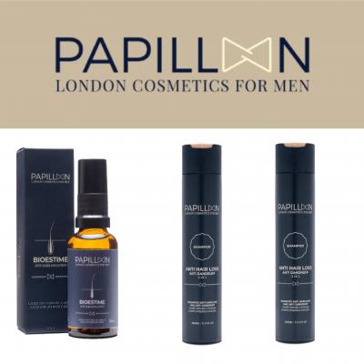 Papillon | Bioestime Lotion + Anti Hair Loss and Anti Dandruff (x2)