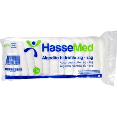 HasseMed | Algodão Hidrófilo Zig-Zag