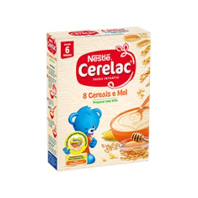 Cerelac | 8 Cereais e Mel 250g