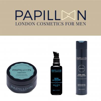Papillon | Fiber Matt + Skin and Beard + Pure Mint