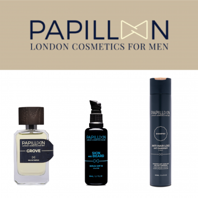 Papillon | Grove Eau de Parfum + Skin and Beard + Anti Hair Loss and Anti Dandruff