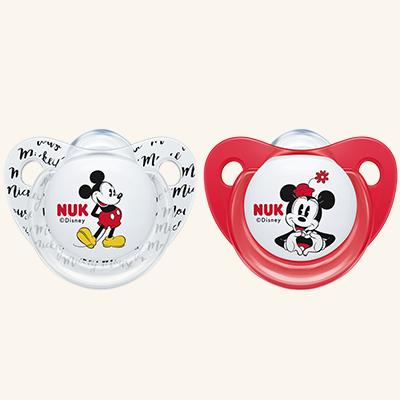 NUK | Chupeta Minnie Mouse (Silicone, 6-18m) x 2