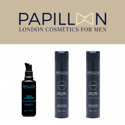 Papillon | Skin and Beard + Pure Mint (x2)