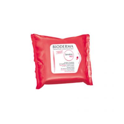 Bioderma | Sensibio H2O Toalhetes 25 Unid.