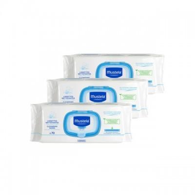 Mustela | Toalhetes de Limpeza Pack Económico (210 Unid.)