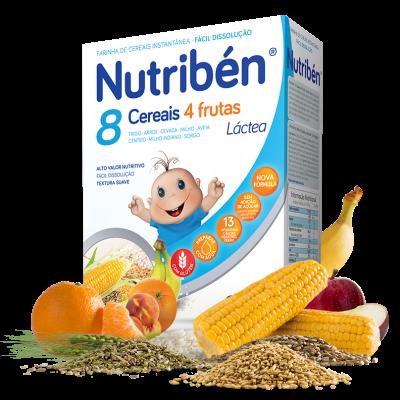 Nutribén | 8 Cereais e 4 Frutas 600g