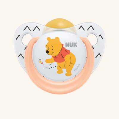 NUK | Chupeta Disney Winnie the Pooh (Látex, 18-36m) x 2