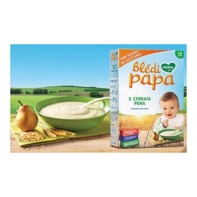 Blédina | Blédipapa 3 Cereais e Pera 250g