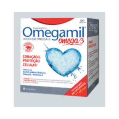 Omegamil | Ómega-3 90 Cápsulas