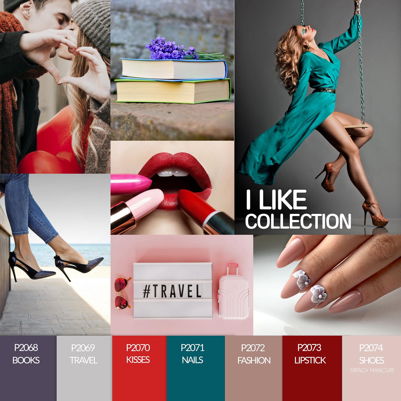 Coleção Verniz Gel PURPLE – I Like Collection (P2068 ao P2074)