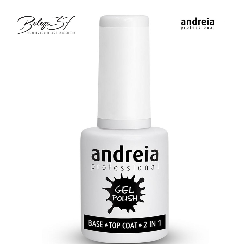 Verniz Gel Andreia - Base/Top Coat 2 em 1