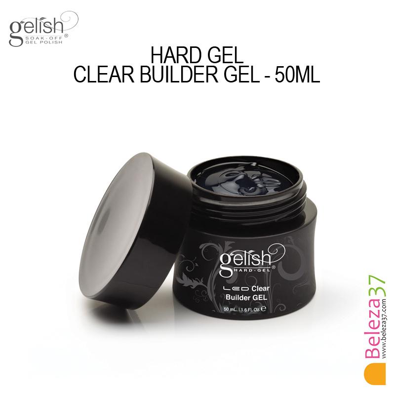 GELISH HARD GEL CLEAR BUILDER GEL (50ml)