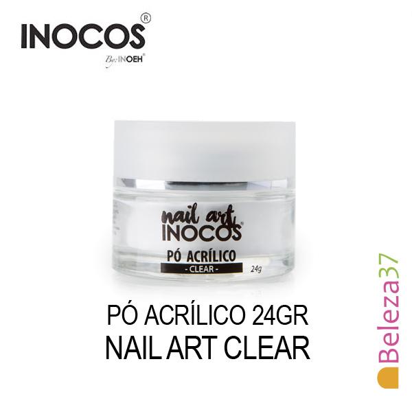 Pó Acrílico Inocos - Clear (Transparente) 24g