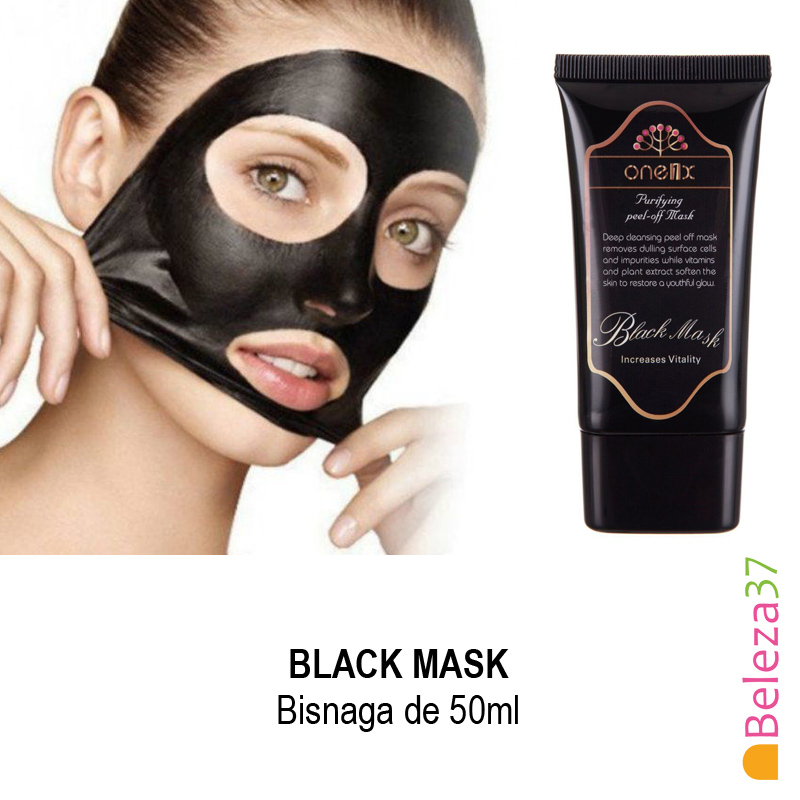 BLACK MASK 50ml - Máscara Removedora de Cravos