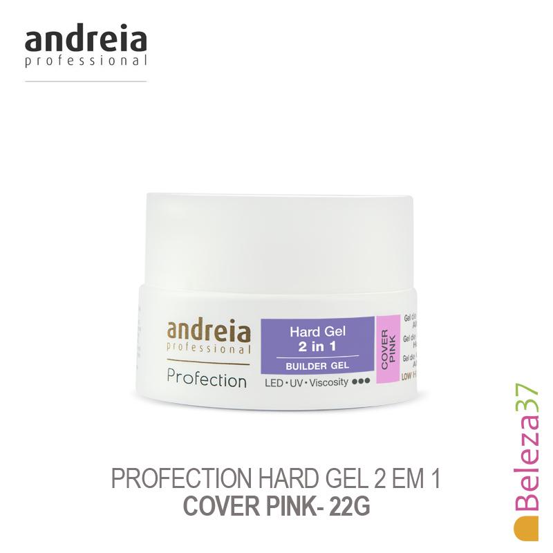 Hard Gel 2 em 1 Andreia Profection - Cover Pink 22g